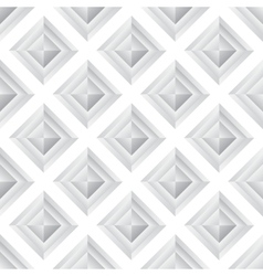 Abstract diamond grey seamless background vector image