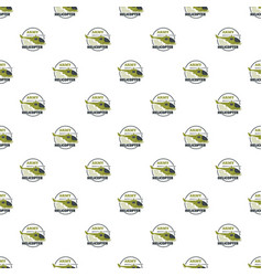 army helicopter pattern seamless vector image