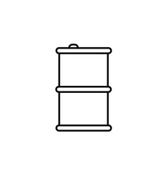 barrel icon vector image