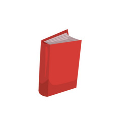 book isolated vector image