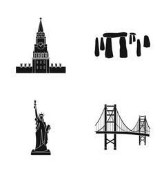 Building interesting place coliseum countries vector