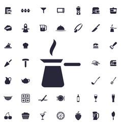 Cezve icon vector