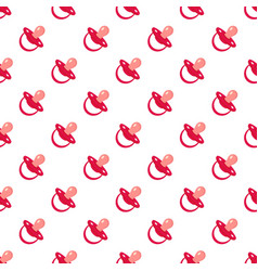 child nipple pattern seamless vector image