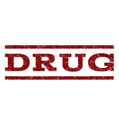 Drug Watermark Stamp vector