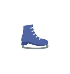 Flat skates element of flat vector