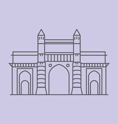 Gateway Of India vector