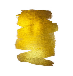 Gold foil watercolor texture vector