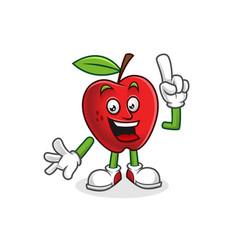 Got an idea apple mascot apple character apple vector