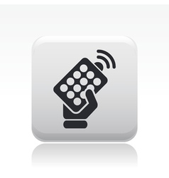 remote icon vector image