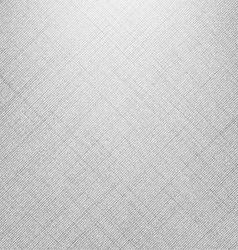 White denim linen texture vector image