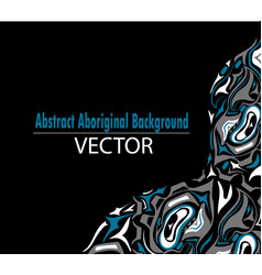 Abstract background native north american vector