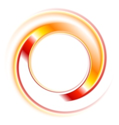 Abstract circles logo background vector image