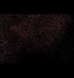 Abstract explosion confetti vector