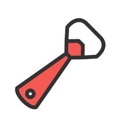 Bottle opener vector