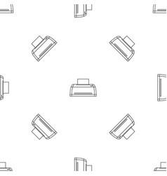 digital printer pattern seamless vector image