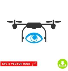 Eye Spy Drone Eps Icon vector image