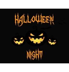 Happy Halloween party night card halloween vector