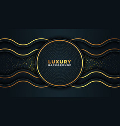 luxury abstract background vector image