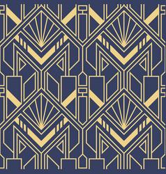 Modern art deco geometric tiles pattern vector