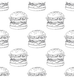 Seamless pattern with sketched burger vector