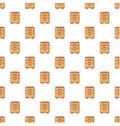 Wardrobe files pattern seamless vector