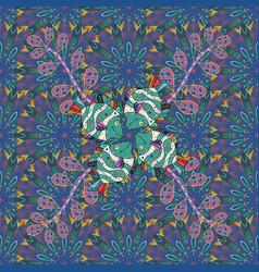 watercolor set of vintage floral tropical vector image vector image
