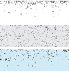 Backgrounds with bubbles vector image