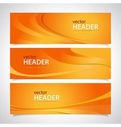 headers vector image