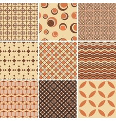 Endless patternTemplate for design and decoration vector image