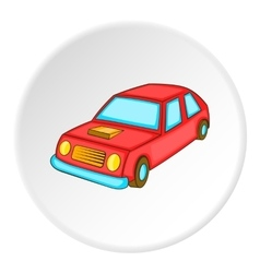 Car icon isometric style vector image
