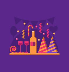 Celebration party banner vector