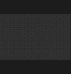 gray brick wall texture vector image
