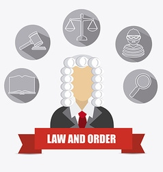 Law design vector