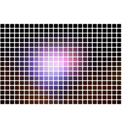 Purple brown black abstract rounded mosaic vector
