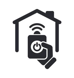 remote home icon vector image