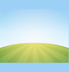 scenic background of countryside vector image