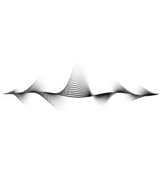 sound wave background audio music vector image
