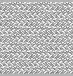 Seamless wavy pattern vector