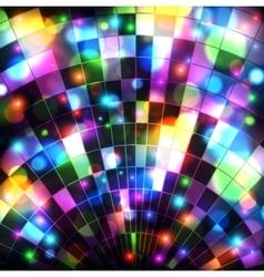 Disco ball background vector