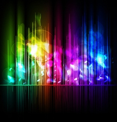 multicolored background vector image