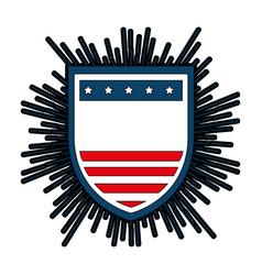 Shield badge symbol vector