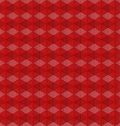 abstract red geometric background vector image