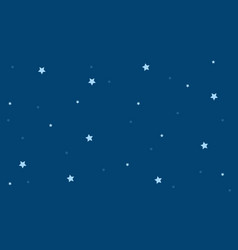 Background star on blue sky vector