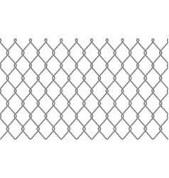 chain-link fence wire mesh pattern background vector image