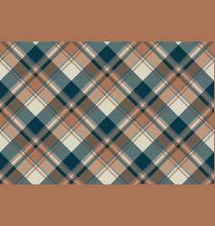 Check classic dark plaid fabric texture seamless vector