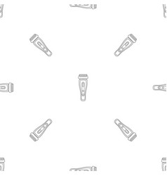 Hair shaver pattern seamless vector