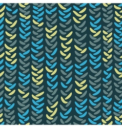 Knitting seamless pattern vector