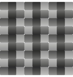 Metal style gray checkered abstract background vector