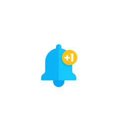 notification counter icon vector image