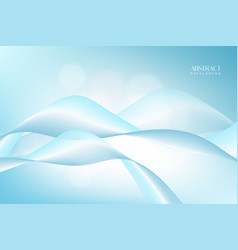 sky blue abstract background with modern style vector image